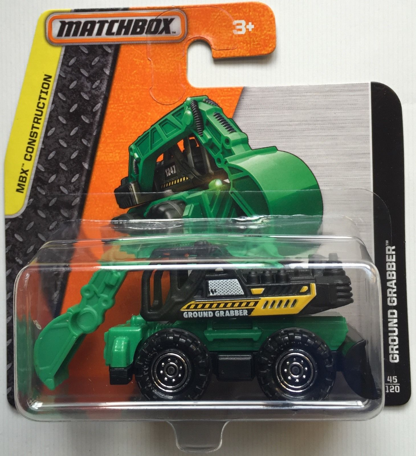 Matchbox MBX Construction Ground Grabber 45/120 Short Card
